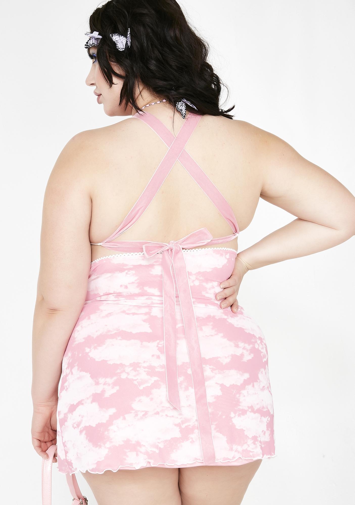 Sugar Thrillz Miss Bliss Vision Sheer Dress