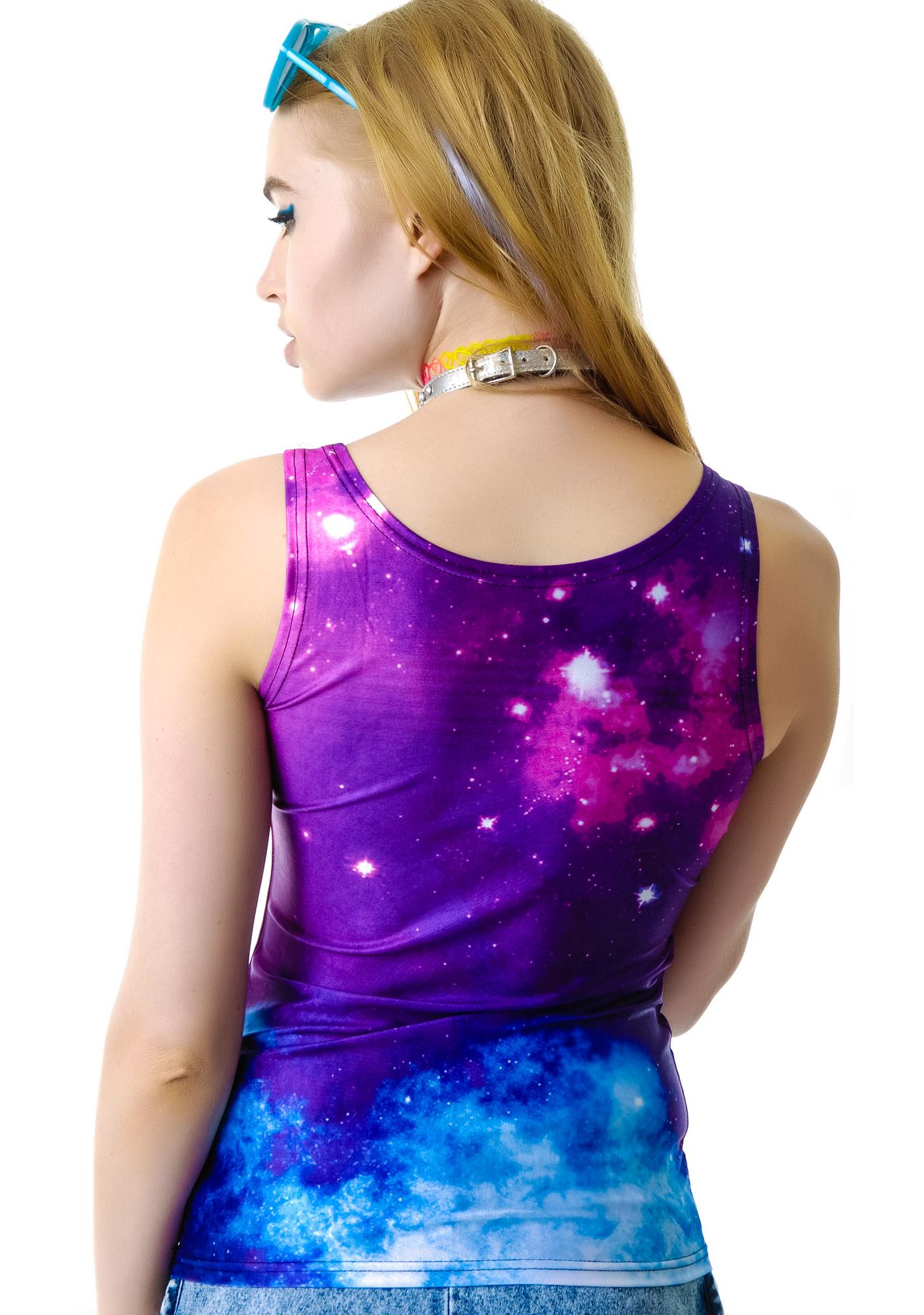 Come Into My Life Galaxy Tank