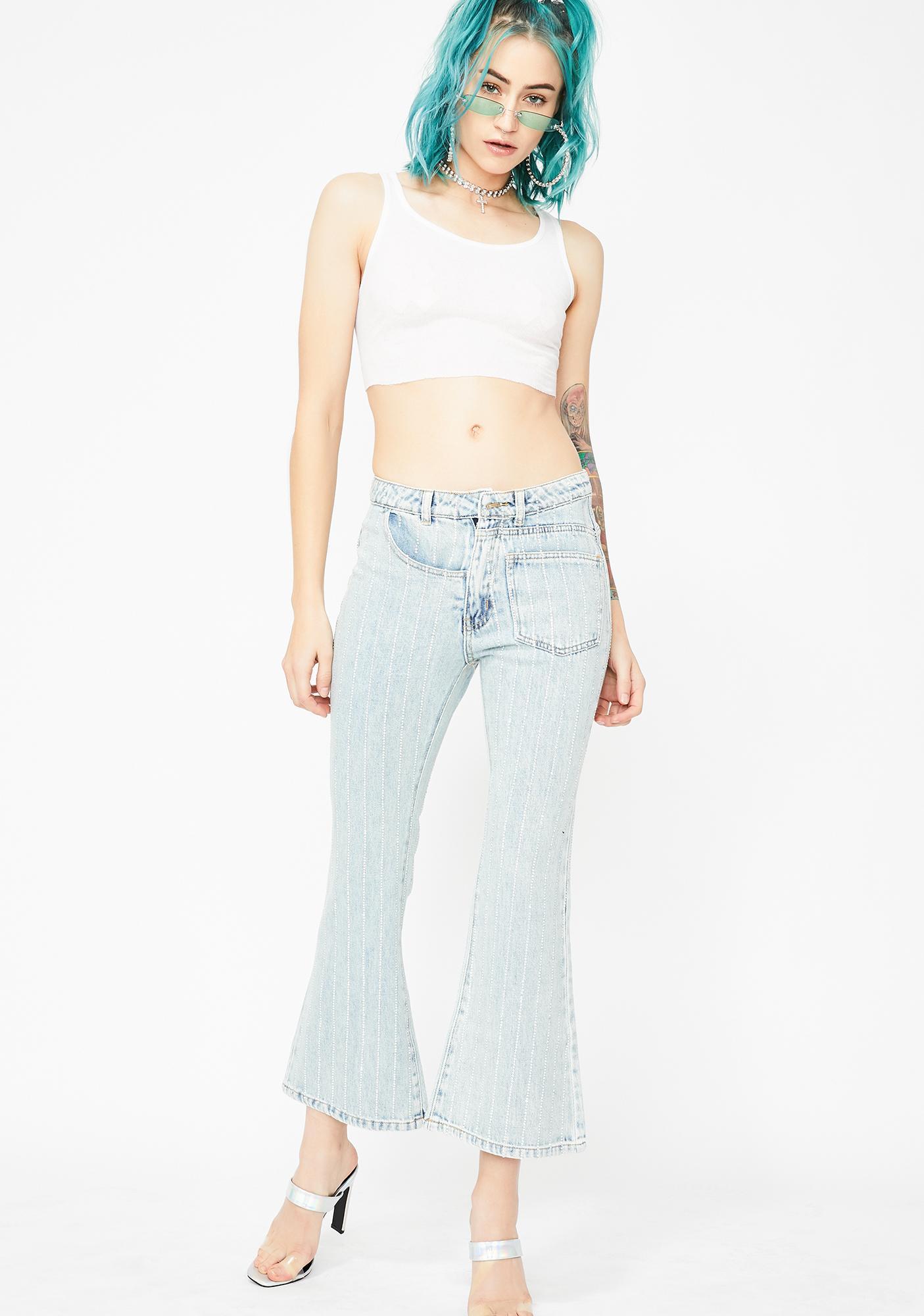 Crystal Cutie Rhinestone Jeans