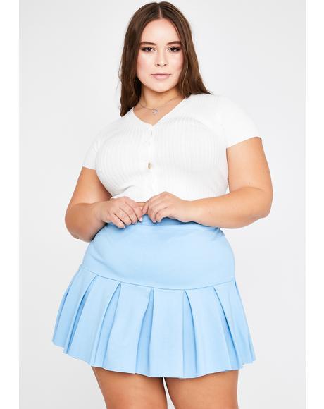 Sky Miss Wicked Scholar Pleated Skirt