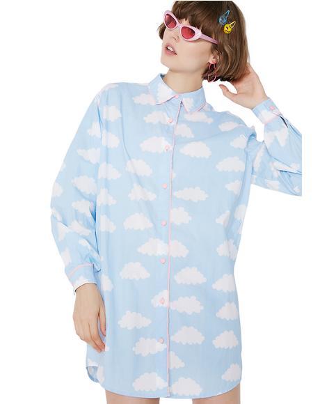 Sometimes Cloudy Shirt