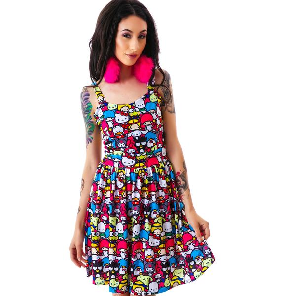 Japan L.A. Japan L.A. x Sanrio Friends Party Dress