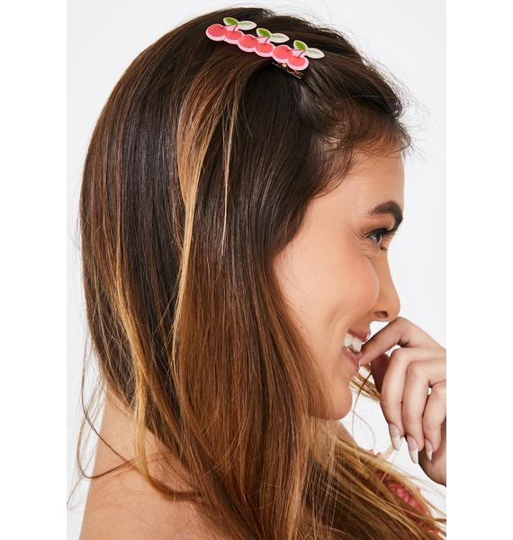 Buy Me Cherries Hair Clip