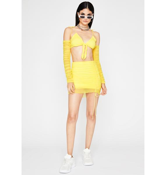 Honey Luv Me Good Skirt Set