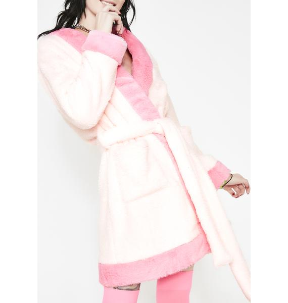 Current Mood Drama Queen Fluffy Robe