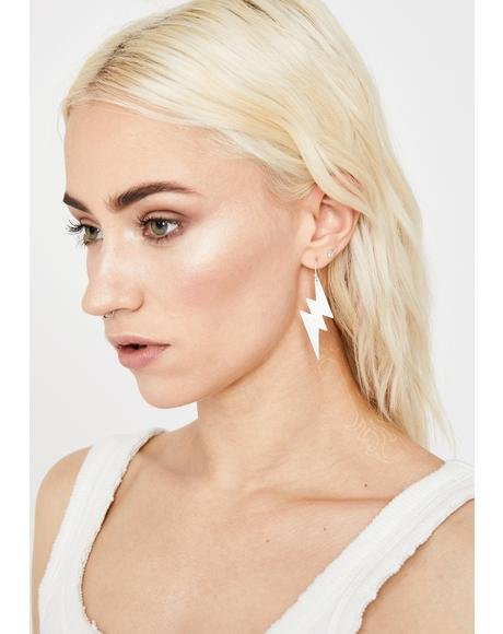 Fast Like Lightning Earrings