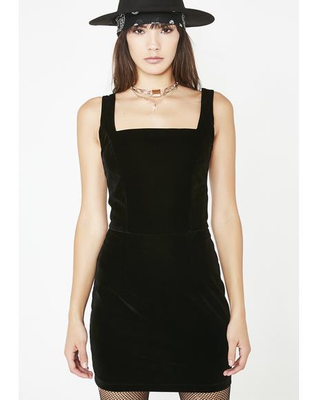 Cindy Velvet Dress