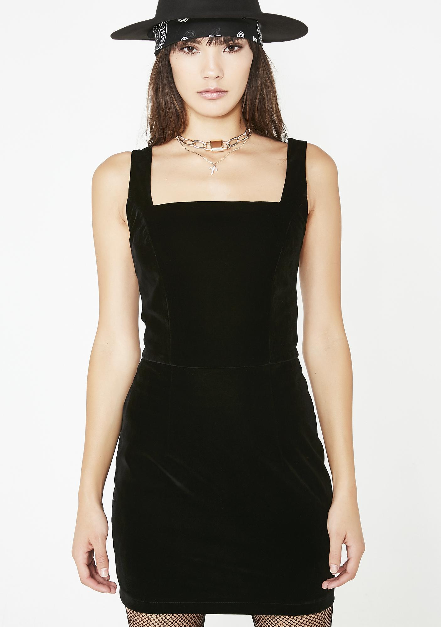 Jagger & Stone Cindy Velvet Dress