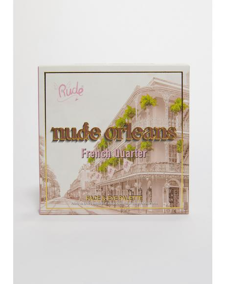 Nude Orleans Face & Eye Palette