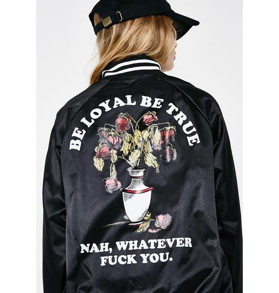 Flying Coffin Be Loyal Jacket