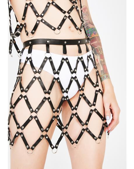 Vicious Mistress Cage Skirt