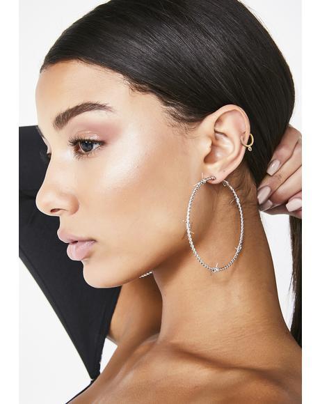 Jail Break Hoop Earrings