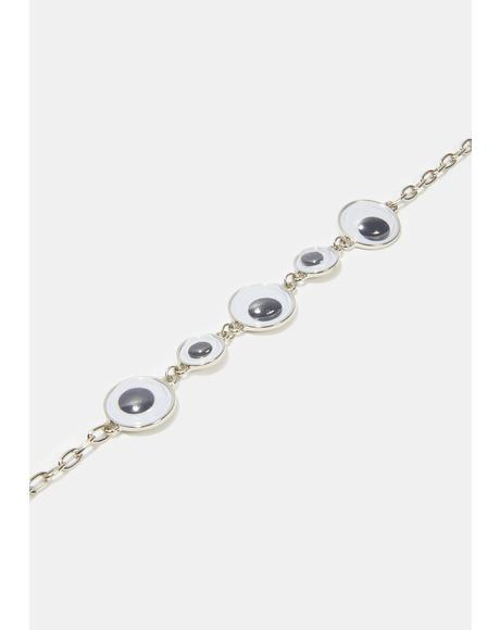 Side Eye Chain Choker