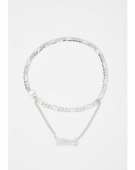 This Betch Layered Necklace
