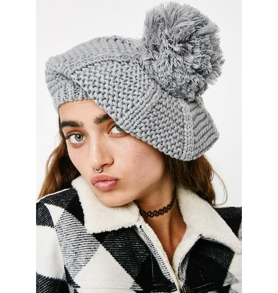 Weekend Stroll Pom-Pom Beanie