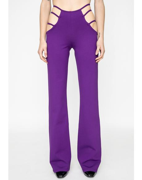 Purple Lucid Pants