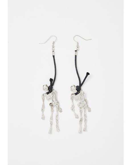 Dead Friendz Drop Earrings