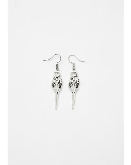 Ill Eagle Baddie Hook Earrings