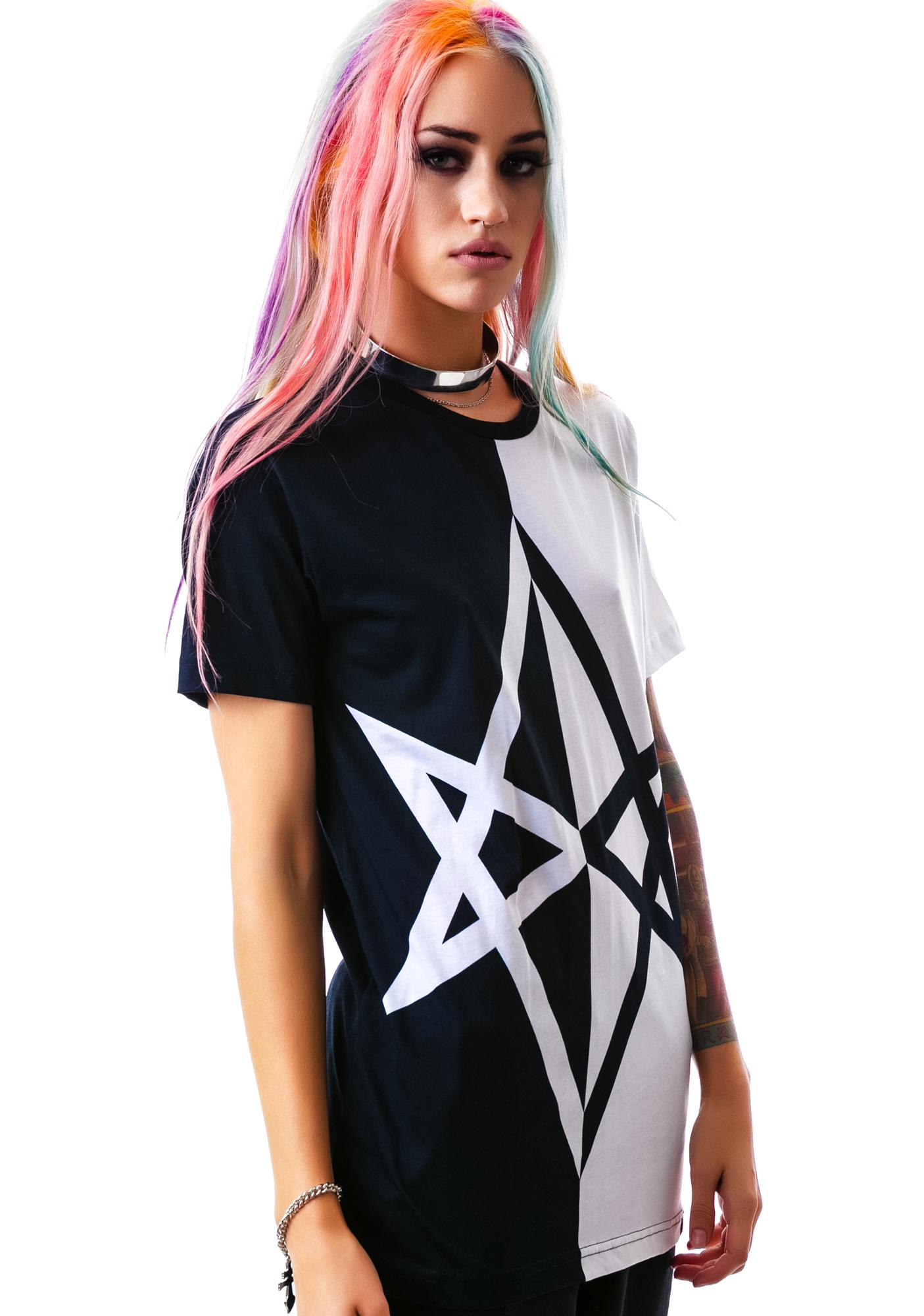 Killstar Hexagram T Shirt