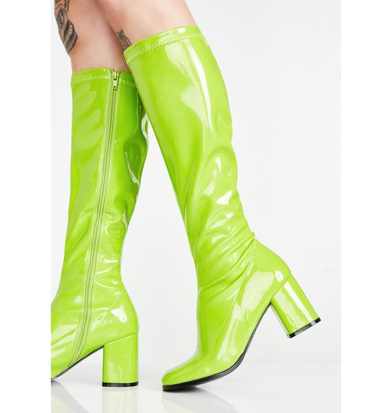 Funtasma Go-Go Dancer Boots