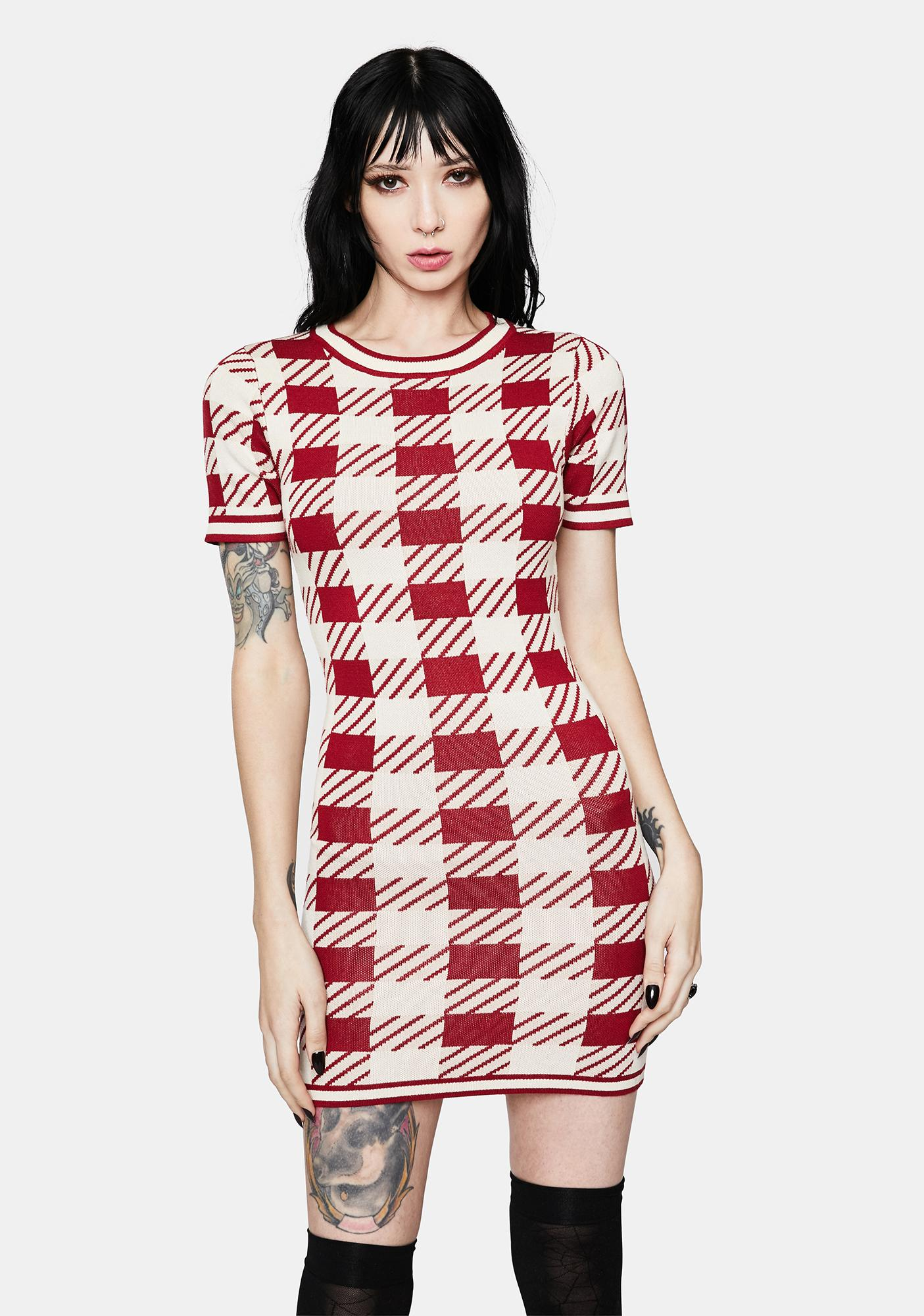 Scarlet Casually Fab Sweater Dress