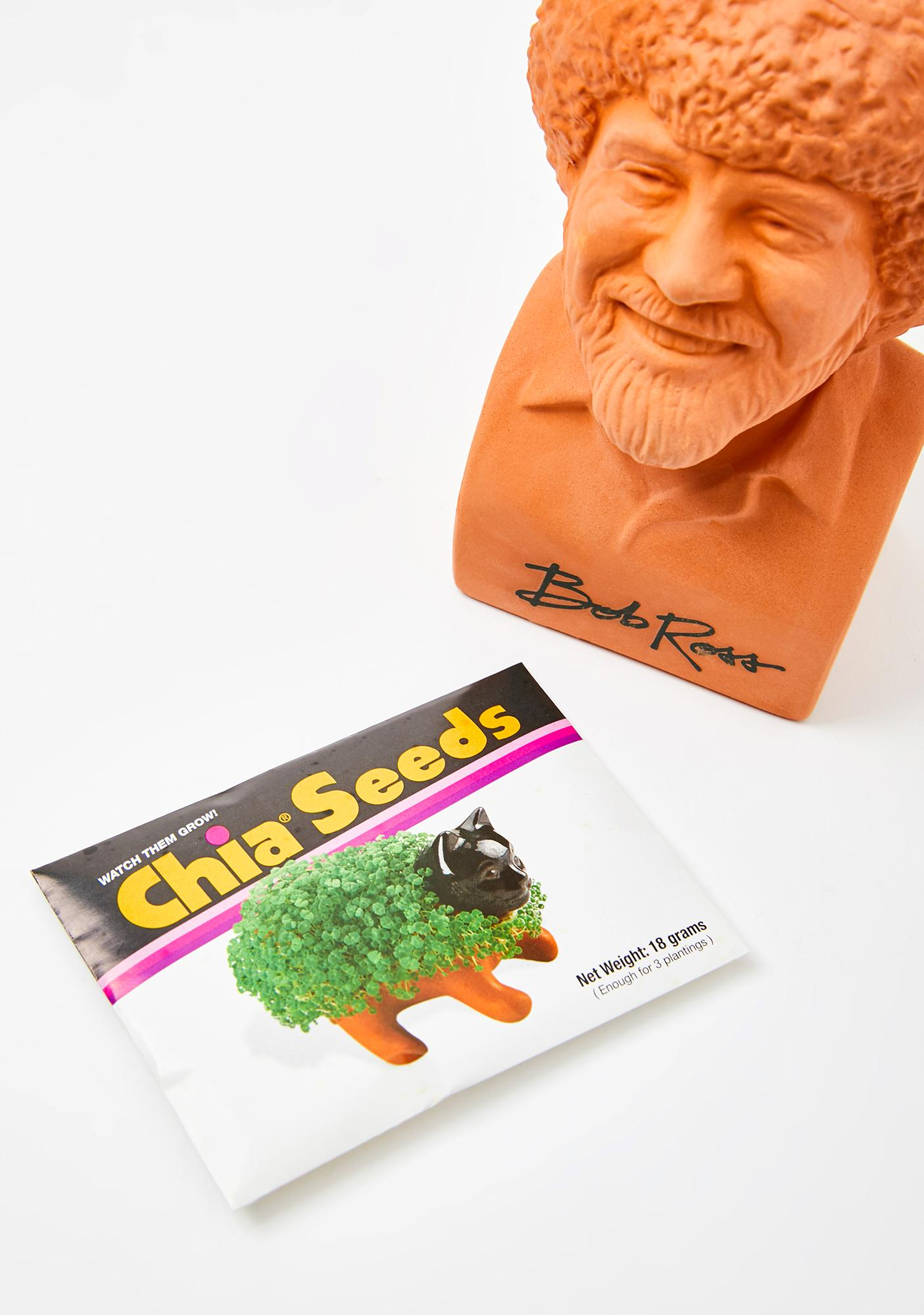 Chia Pet Chia Pet Bob Ross Planter