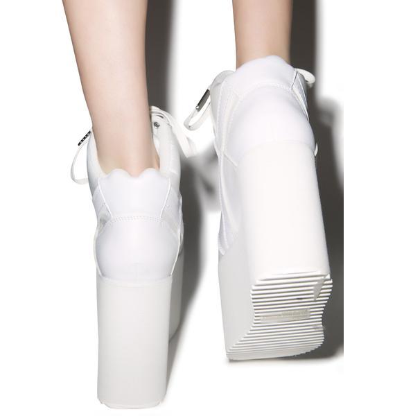Y.R.U. Pure Qozmo Hi Platform Sneakers