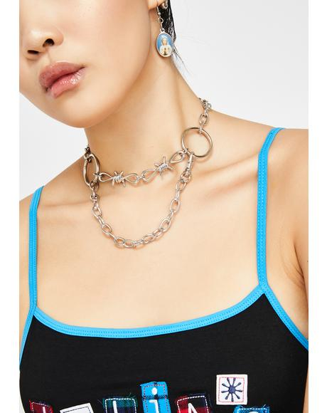What'z Good Punk Chain Choker