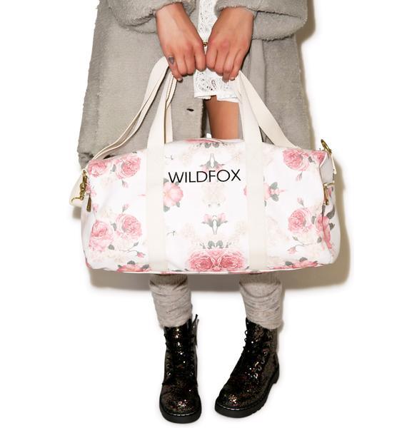 Wildfox Couture Austen Rose Gym Bag