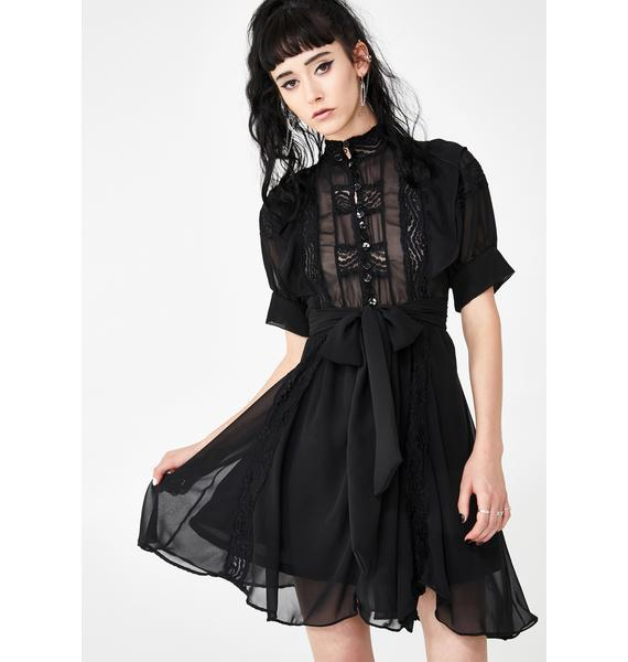 Kiki Riki Heartbreak Hex Mini Dress