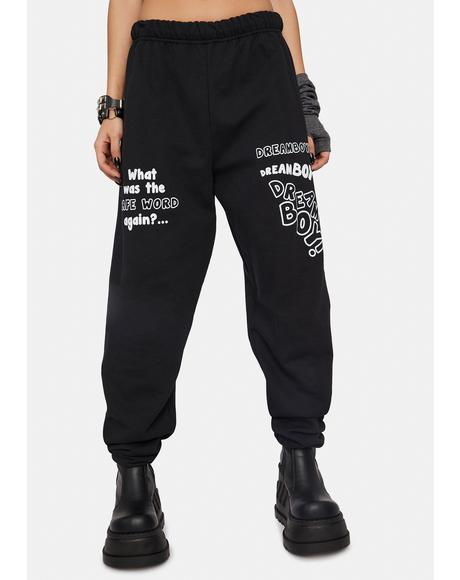 Safe Word Sweatpants