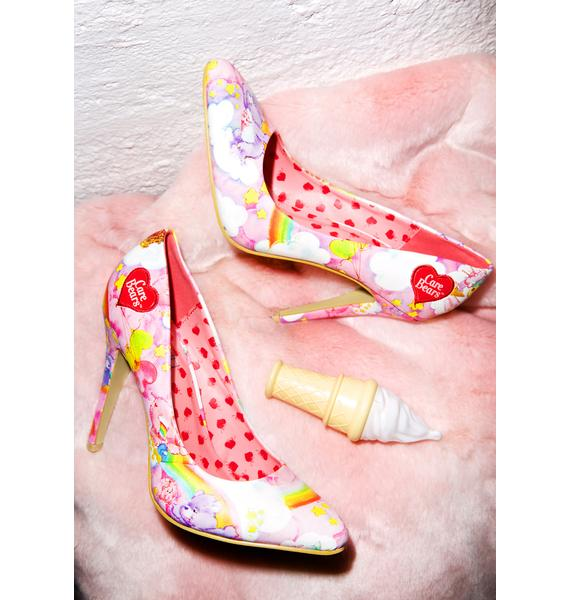 Iron Fist Care Bears Point Heels