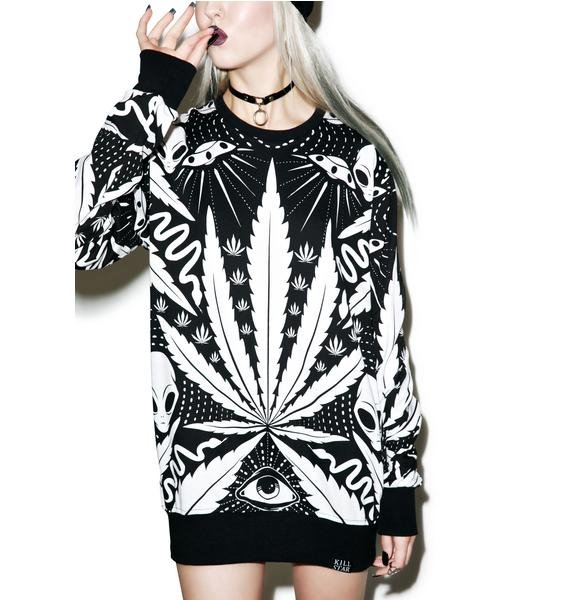 Killstar Space Grass Sweatshirt