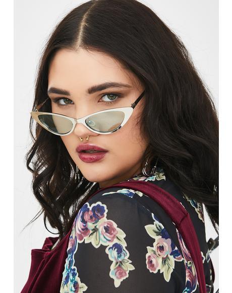 So Loveable Cat Eye Sunglasses