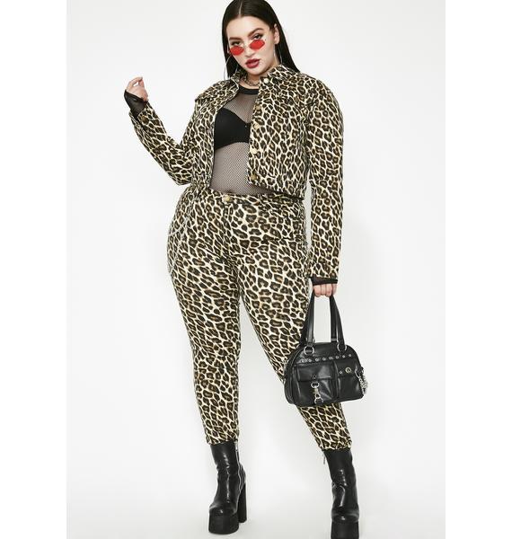 She's Feeling Catty Leopard Jacket