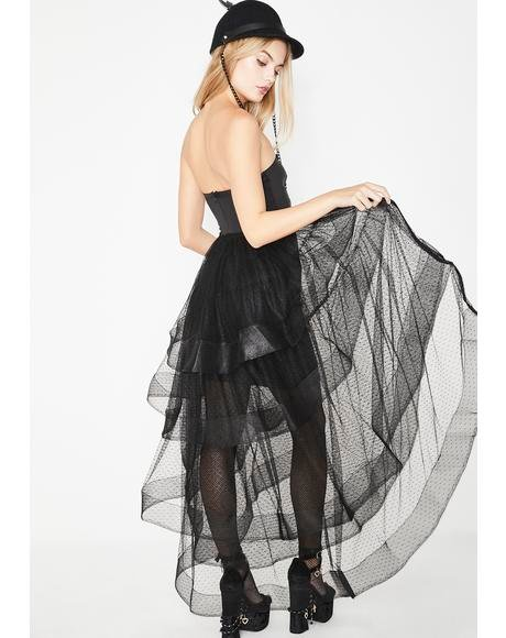 Roaring Twenties Tulle Mini Dress