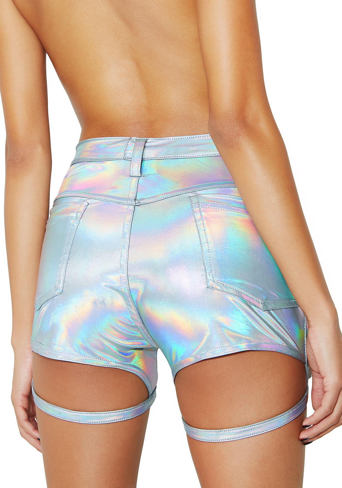 ESQAPE Motlii Hologram Shorts