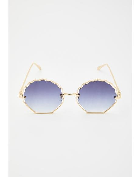 Steal My Sunshine Oversized Sunglasses