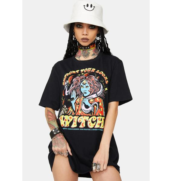 Boss Dog Support Graphic Tee