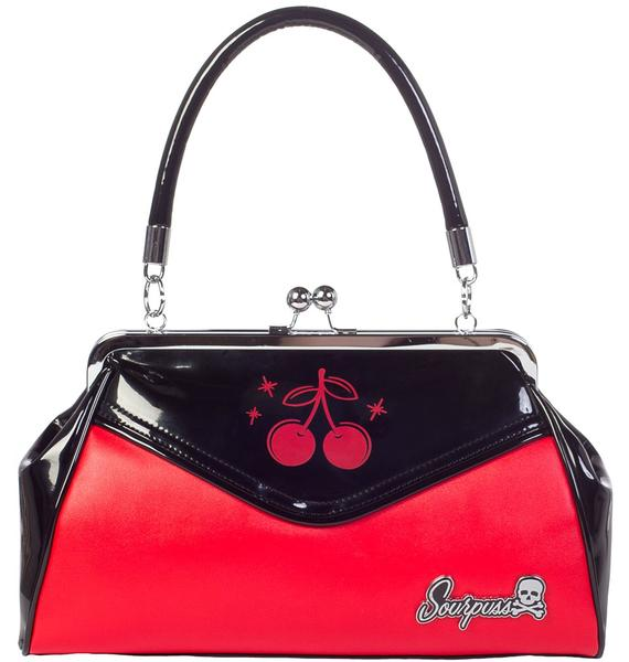 Sourpuss Clothing Cherry Backseat Baby Purse