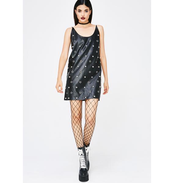 Mean Machine Studded Dress
