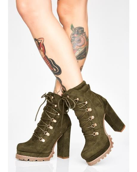 Kush Chicago Winds Ankle Boots