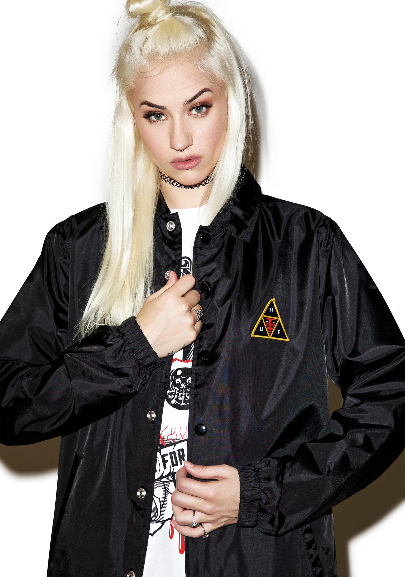 HUF HUF X Obey Coaches Jacket