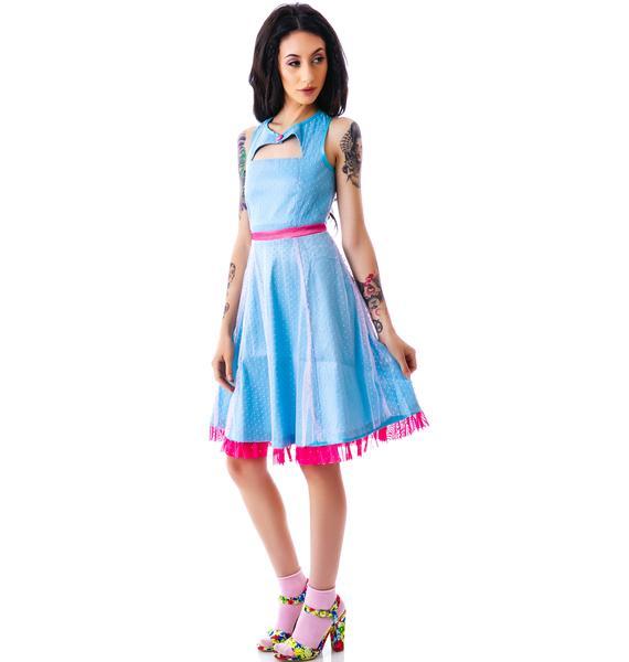 Sourpuss Clothing Vintage Dance Card Dress