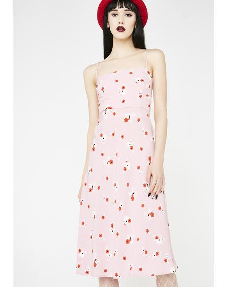 Keep Dreaming Midi Dress