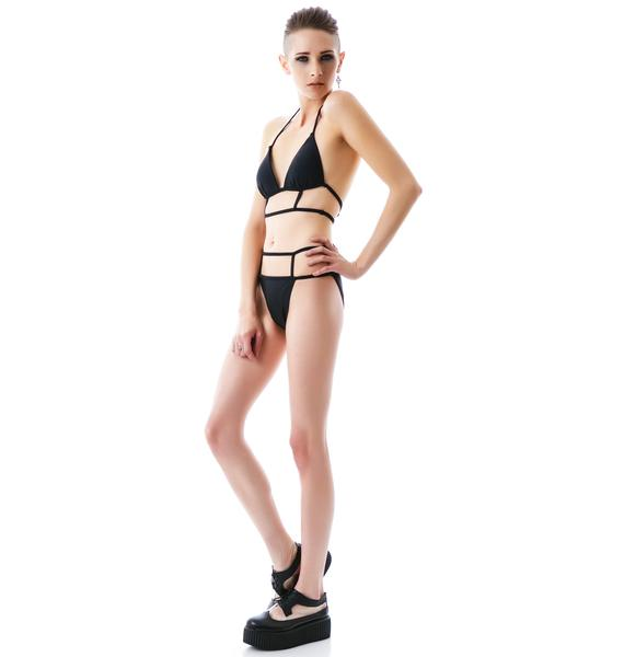 Rebel Cut Out Bikini