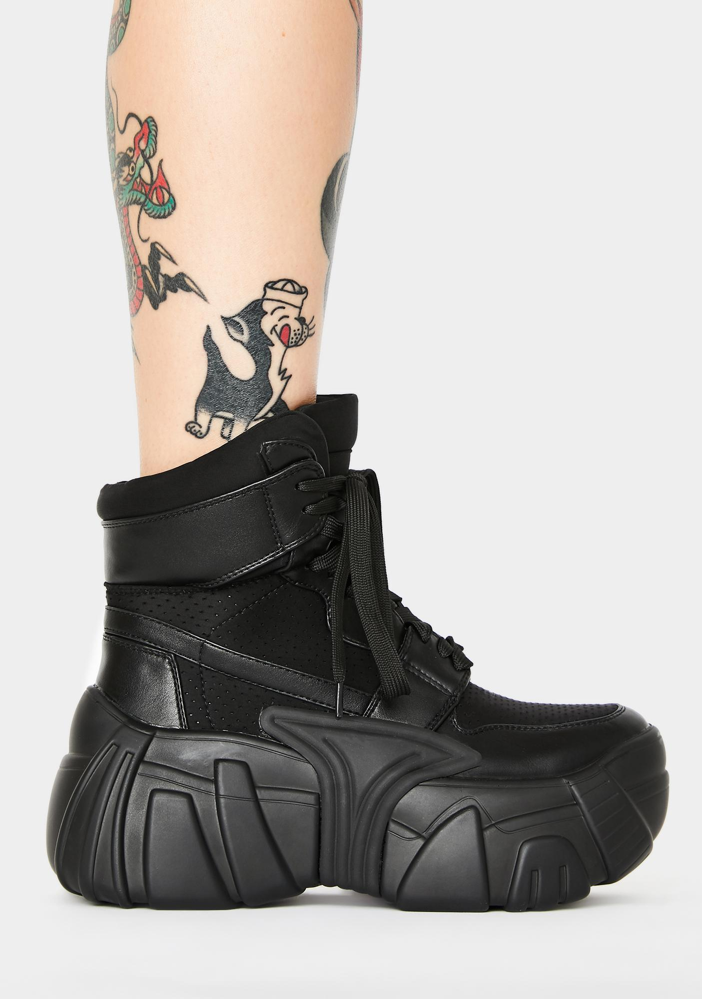 Current Mood Hype Riot Chunky Sneakers