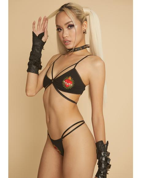 Queen Of Heartbreak Lingerie Set