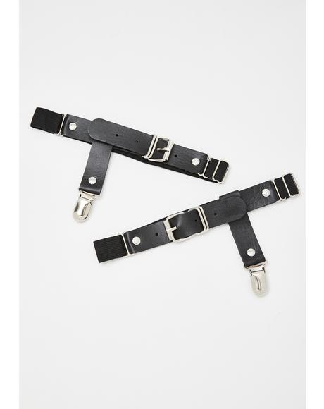 Bucklin' Up Garter Set