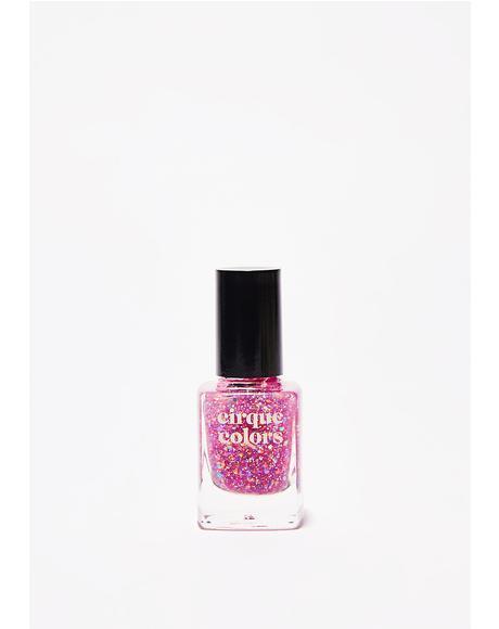 Crystal Tokyo Glitter Nail Polish
